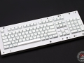 Max Keyboard Custom Backlight ANSI 104-key White keycap set for Corsair Strafe RGB