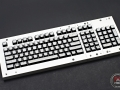 Max Keyboard Custom White Translucent Top Keycap Set with Custom Print for Razer Blackwidow Chroma