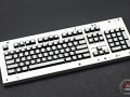 Max Keyboard Custom White Translucent Top Keycap Set for Corsair Strafe RGB