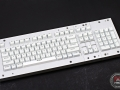 Max Keyboard Custom ANSI 104-Key Backlight Shine Through White Keycap Set