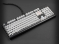 Max Keyboard Custom Backlit Mechanical Keyboard With Custom Clear Translucent Key Cap
