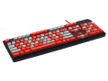 Max Keyboard Nighthawk custom mechanical keyboard with custom color top printed keycap