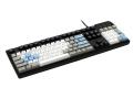 Max Keyboard Nighthawk custom keycap mechanical keyboard with top print