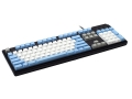 Max Keyboard Nighthawk custom mechanical keyboard with custom color front side printed keycap