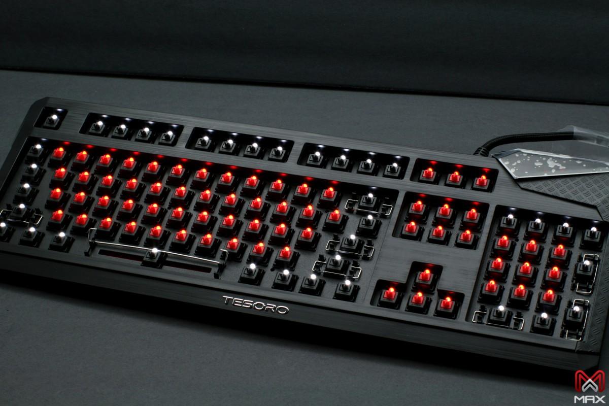 Max Keyboard Tesoro Durandal eSport Edition Backlit Mechanical Keyboard