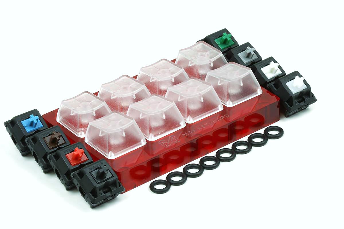 Max Keyboard Cherry MX PRO Sampler Tester Kit