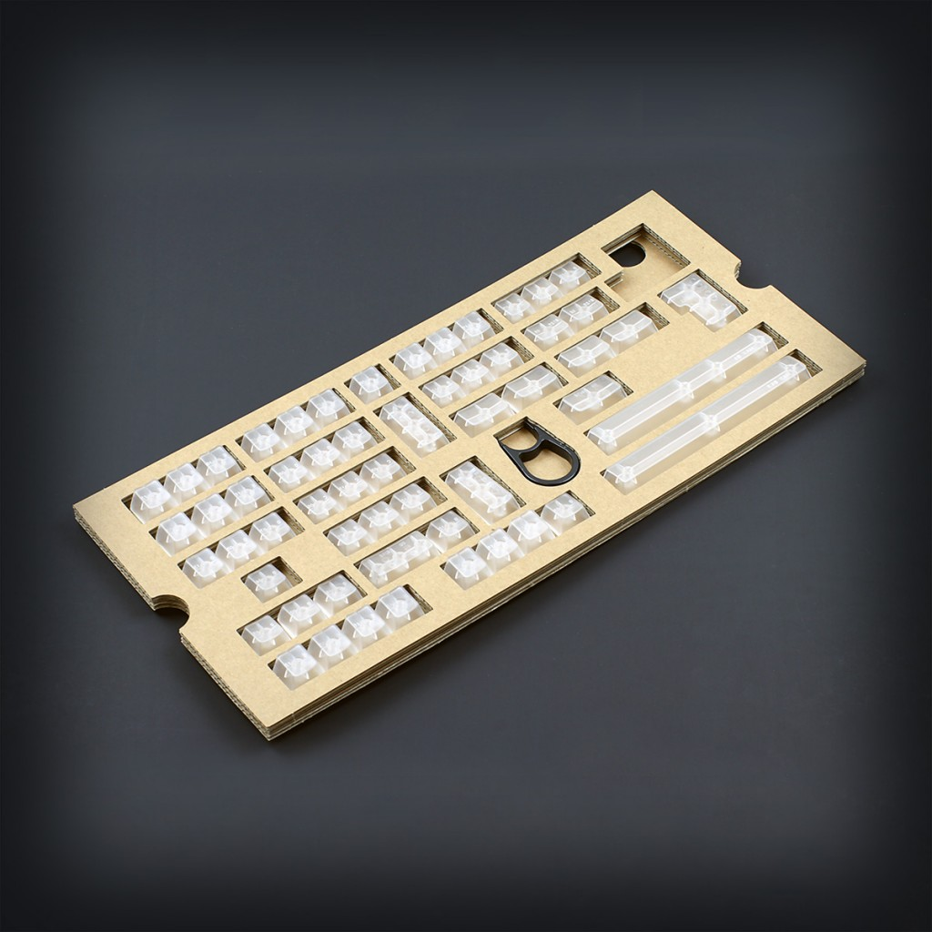 Max Keyboard Universal Clear Translucent Cherry MX Full Keycap Set