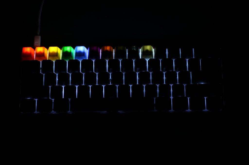 Max Keyboard ABS Color Keycap with Backlight