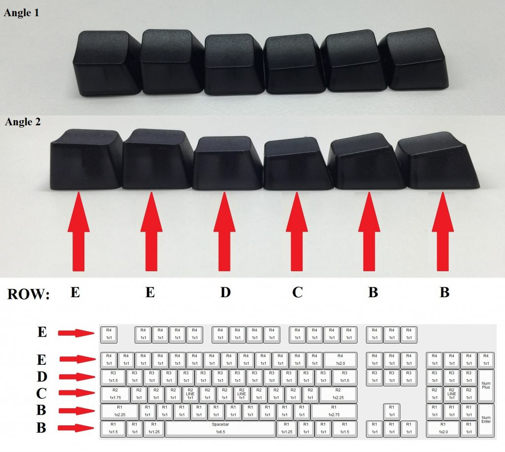 Max Keyboard Keycap Profile