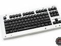 Max Keyboard Custom Backlight ANSI 87-key keycap set with custom font and design