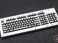 Max Keyboard Custom White Translucent Top Keycap Set with Custom Print for Razer Blackwidow Chroma