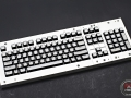 Max Keyboard Custom White Translucent Top Keycap Set for Corsair Strafe RGB