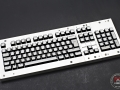 Max Keyboard Custom White Translucent Top ISO U.K layout Keycap Set for Corsair Strafe RGB