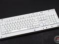 Max Keyboard Custom ANSI 104-Key Backlight Shine Through White Keycap Set