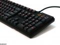 Max Keyboard Custom Nighthawk X9 Backlit Mechanical Gaming Keyboard with Cherry MX Red key switch