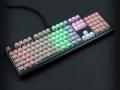 Max Keyboard Custom Backlit Mechanical Keyboard With Custom Clear Translucent Key Cap