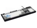 Max Keyboard Nighthawk custom mechanical keyboard with custom color side printed keycap