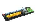 Max Keyboard Nighthawk custom keycap mechanical keyboard with side print