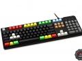 Max Keyboard Custom Color Ninja Print Mechanical Keyboard