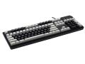 Max Keyboard Nighthawk custom mechanical keyboard with custom color blank keycap